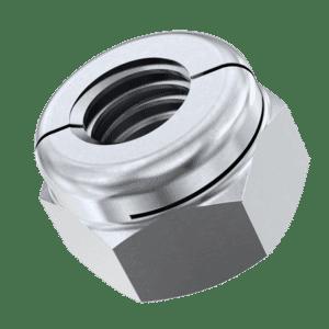 M4 Aerotight Locking Nuts - Stainless Steel (A1)