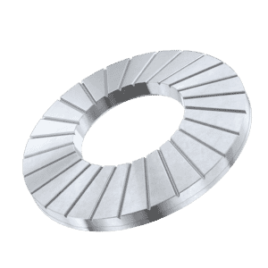 M5 AFNOR M-Type Serrated Conical Washers (NFE 25511)- Stainless Steel (A2)
