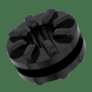 3.6mm x 9.5mm x 2.1mm Anti-Vibration Grommet Mounts - Rubber