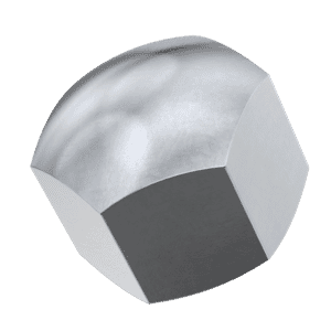 M24 Cap Nuts (DIN 917) - Marine Stainless Steel (A4)
