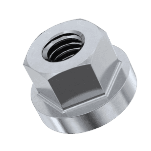M6 Collar Nuts - Stainless Steel (A2)