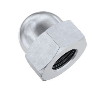 M5 Dome Nuts (DIN 1587) - Stainless Steel (A2)