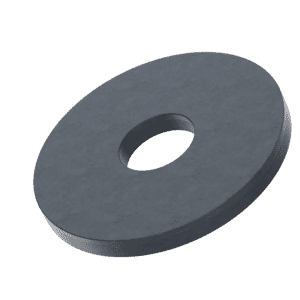 M5 Wood and Decking Washers (DIN 440) - Black Marine Stainless Steel (A4)