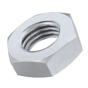 M6 Thin Hexagon Nuts (DIN 439) - Stainless Steel (A2)