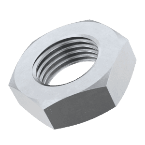 M16 Thin Fine Pitch Hexagon Nuts - 1.5mm Pitch (DIN 439) - Marine Stainless Steel (A4)