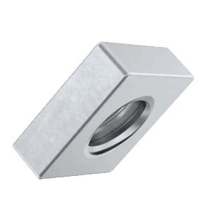 M3 Flat Square Nuts (DIN 562) - Stainless Steel (A2)