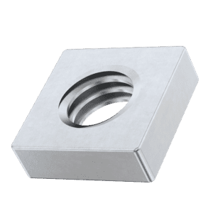 M6 Flat Square Nuts (DIN 562) - Stainless Steel (A2)