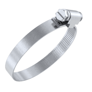 50mm-70mm x 9mm Hose Clamps - Stainless Steel (A2)