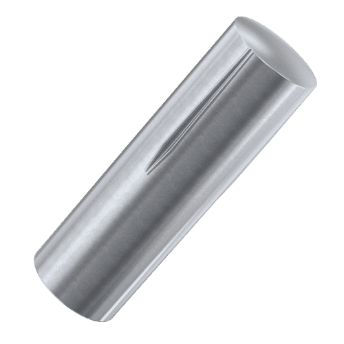 Half Length Reverse Taper Grooved Pins