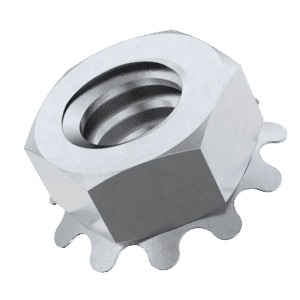 6-32 UNC Imperial Shakeproof KEP Nuts - Stainless Steel (A2)