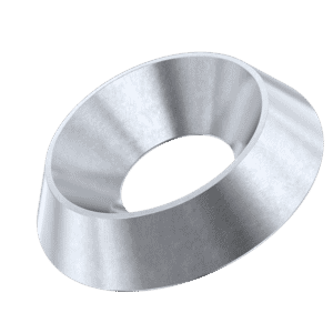 M4 Countersunk Finishing Washers (NF E 27-619) - Stainless Steel (A2)