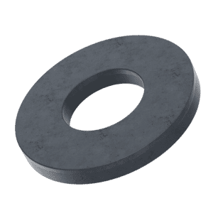 M6 Form C Flat Washers (BS4320) - Black Marine Stainless Steel (A4)