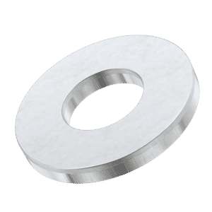 M4 Form C Flat Washers (BS4320) - Stainless Steel (A2)