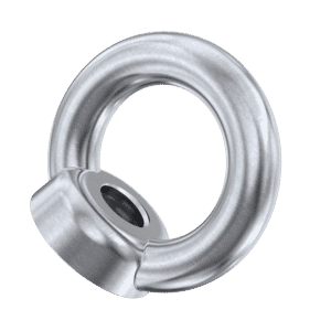 M6 Lifting Eye Nuts (DIN 582) - Cast Stainless Steel (A2)