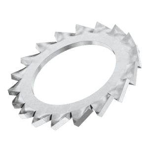 M5 External Fine Tooth Locking Washers (DIN 6798A) - Marine Stainless Steel (A4)