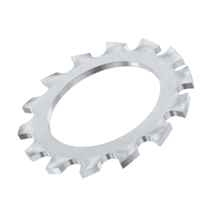 M5 External Locking Washers (DIN 6797A) - Stainless Steel (A2)