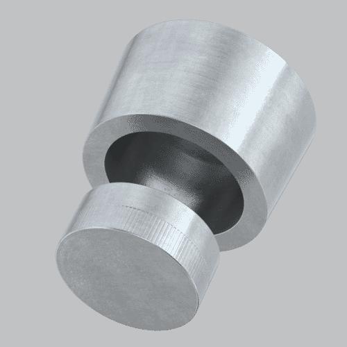 M10 NoGo™ Security Fastener Enclosure Type 1 - Zinc Plated Case Hardened Steel