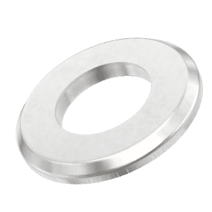 M8 Chamfered Flat Washers (ISO 7090) - Stainless Steel (A2)
