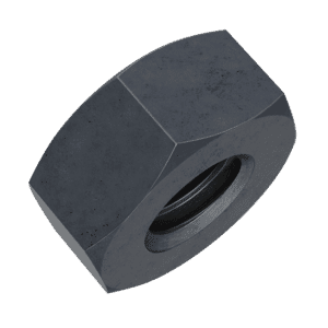 M6 Hexagon Nuts (DIN 934) - Black Stainless Steel (A2)