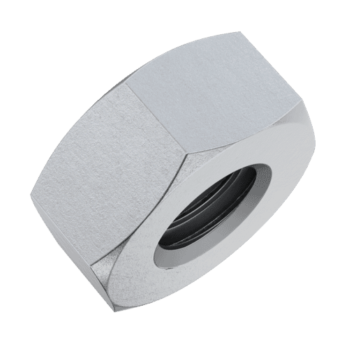 M10 Fine Pitch Hexagon Nuts - 1mm Pitch (DIN 934) - Marine Stainless Steel (A4)