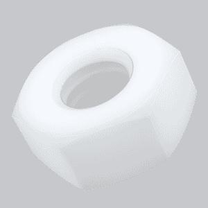 M6 Hexagon Nuts (DIN 934) - Nylon