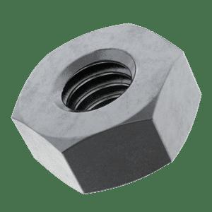 M16 Hexagon Nuts (DIN 934) - Mild Steel (Grade 8)