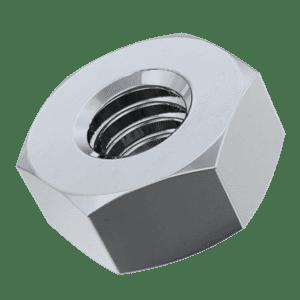 M8 Hexagon Nuts (DIN 934) - Zinc Plated Mild Steel (Grade 8)