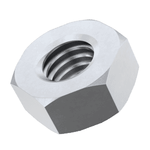 M8 Left Hand Thread Hexagon Nuts (DIN 934) - Stainless Steel (A2)