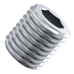 1/4 inch x 0.394 inch Socket Pipe Plugs (DIN 906 (BSPT)) - Marine Stainless Steel (A4)
