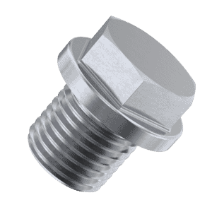 3/8 inch Hexagon Head Pipe Plugs (DIN 910) - Marine Stainless Steel (A4)