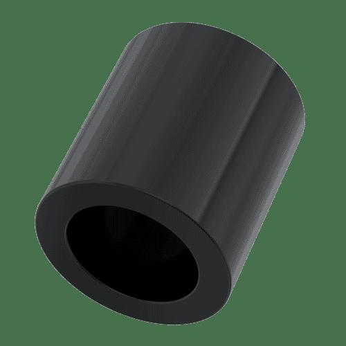 10mm x 6.2mm x 8mm Spacers - Black Nylon