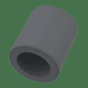 12mm x 8mm x 4.8mm Spacers - Light Grey PVC