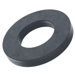 M8 Form A Flat Washers (DIN 125) - Black Stainless Steel (A2)