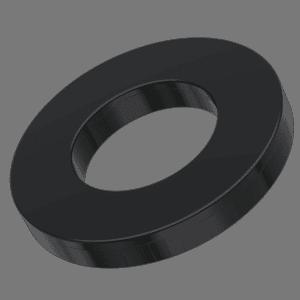 3.2mm x 9mm x 0.8mm Flat Washers - TPR Rubber