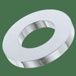 M6 Metric Flat Washers (DIN 125A) - Zinc Plated Mild Steel (Grade 4.6)