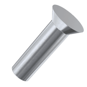 5mm x 30mm Countersunk Solid Rivets (DIN 661) - Stainless Steel (A2)
