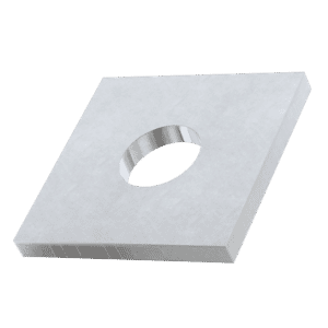 M12 Square Wood and Decking Washers (DIN 436) - Marine Stainless Steel (A4)