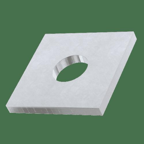 Rondelles plates carrées