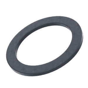 12mm x 8mm x 0.5mm Shim Washers (DIN 988) - Black Stainless Steel (A2)