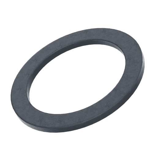 16mm x 10mm x 0.05mm Shim Washers (DIN 988) - Black Stainless Steel (A2)