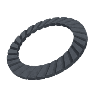 M4 Anti-Vibration Safety Washers - Black Stainless Steel (A2)