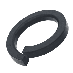 M4 Square Profile Spring Washers (DIN 7980) - Black Marine Stainless Steel (A4)