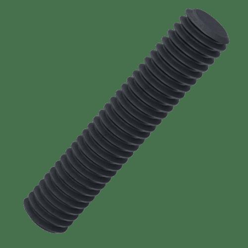 M10 x 1000mm Left Hand Threaded Bars (DIN 975) - Black Stainless Steel (A2)