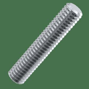 1/2-12 BSW x 36 inch Threaded Bars - Zinc Plated Mild Steel (Grade 4.6)