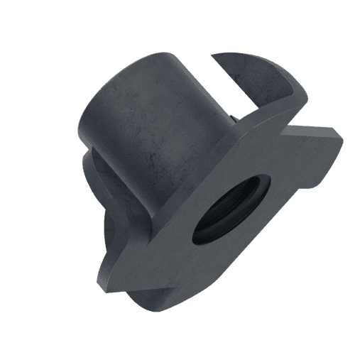 M6 Tee Nuts - Black Stainless Steel (A2)