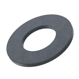 M5 Reduced Diameter Flat Washers (DIN 433) - Black Stainless Steel (A2)