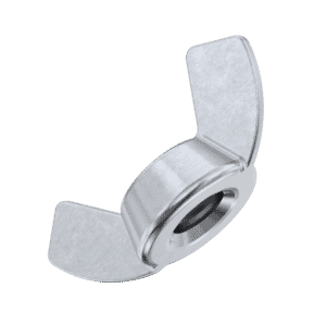 M4 Wing Nuts (DIN 315 AF) - Stainless Steel (A2)