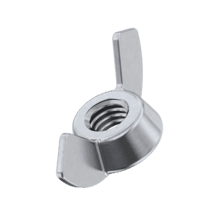 M6 Wing Nuts (DIN 315 AF) - Stainless Steel (A2)