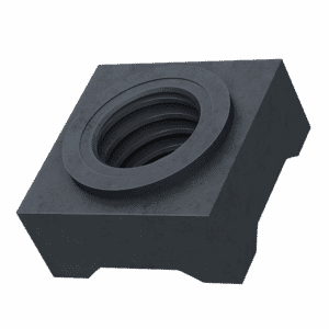 M8 Square Weld Nuts (DIN 928) - 8.8 Hardened Steel