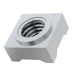 M6 Square Weld Nuts (DIN 928) - Marine Stainless Steel (A4)